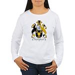 Nottingham Family Crest Women's Long Sleeve T-Shir
