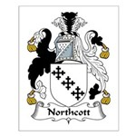 Northcott Family Crest Small Poster