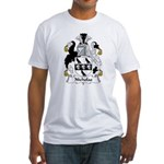 Nicholas Family Crest Fitted T-Shirt