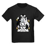 Nicholas Family Crest Kids Dark T-Shirt