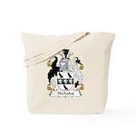 Nicholas Family Crest Tote Bag