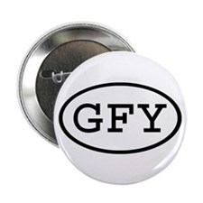 "GFY Oval 2.25"" Button (100 pack)"