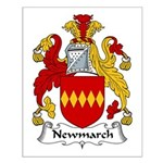 Newmarch Family Crest Small Poster