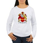 Newmarch Family Crest Women's Long Sleeve T-Shirt