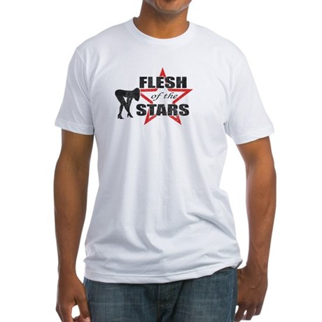 Knocked Up Flesh of The Stars Fitted T-Shirt