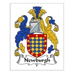 Newburgh Family Crest Small Poster