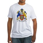 Newburgh Family Crest Fitted T-Shirt