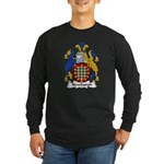Newburgh Family Crest Long Sleeve Dark T-Shirt