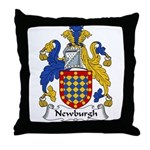 Newburgh Family Crest Throw Pillow