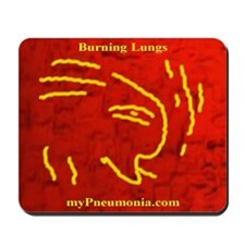 Unique Lung, donor Mousepad