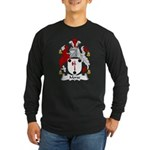 Morse Family Crest Long Sleeve Dark T-Shirt