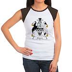 Moon Family Crest Women's Cap Sleeve T-Shirt