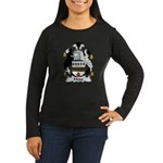 Mogg Family Crest  Women's Long Sleeve Dark T-Shir