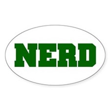 NERD Oval Decal