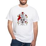 Milner Family Crest White T-Shirt