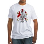 Milner Family Crest  Fitted T-Shirt