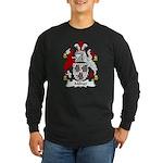 Milner Family Crest Long Sleeve Dark T-Shirt