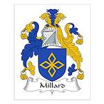 Millard Family Crest Small Poster