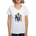 Millard Family Crest Women's V-Neck T-Shirt