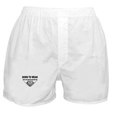 BORN TO WEAR DIAMONDS Boxer Shorts