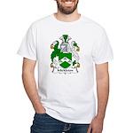 Mickleton Family Crest White T-Shirt
