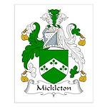 Mickleton Family Crest Small Poster