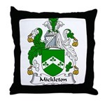 Mickleton Family Crest Throw Pillow