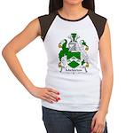 Mickleton Family Crest  Women's Cap Sleeve T-Shirt