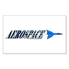 Aerospace Rectangle Decal