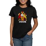 Meredith Family Crest Women's Dark T-Shirt