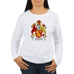 Meredith Family Crest Women's Long Sleeve T-Shirt