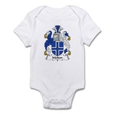 Melton Family Crest Infant Bodysuit