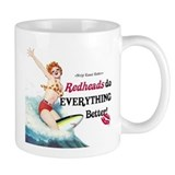 Redheads do everything better Coffee Mug