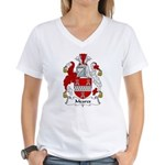 Meares Family Crest Women's V-Neck T-Shirt