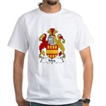 May Family Crest White T-Shirt