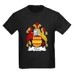 May Family Crest Kids Dark T-Shirt