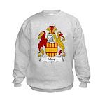 May Family Crest Kids Sweatshirt