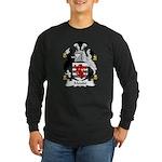 Maude Family Crest Long Sleeve Dark T-Shirt