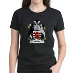 Maude Family Crest Women's Dark T-Shirt