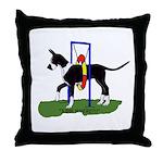 A Great Dane Mantle Agility e Throw Pillow