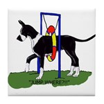 A Great Dane Mantle Agility e Tile Coaster
