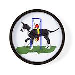 A Great Dane Mantle Agility e Wall Clock