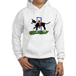 A Great Dane Mantle Agility e Hooded Sweatshirt