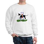 A Great Dane Mantle Agility e Sweatshirt