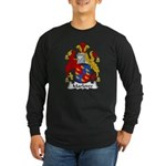 Marlowe Family Crest Long Sleeve Dark T-Shirt