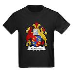 Marlowe Family Crest Kids Dark T-Shirt