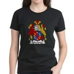 Marlowe Family Crest Women's Dark T-Shirt