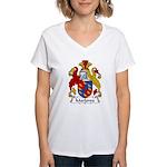 Marlowe Family Crest Women's V-Neck T-Shirt