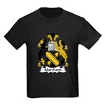Marchand Family Crest Kids Dark T-Shirt