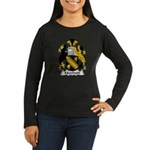 Marchand Family Crest Women's Long Sleeve Dark T-S